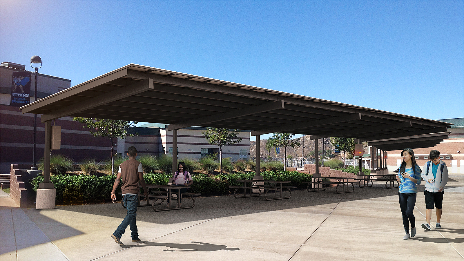 Solar Energy Structures To Help Cjusd Save 35 Million In