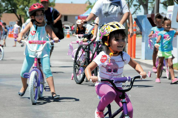 courtesy photo/ rialto network Young riders and their parents are encouraged to head over to the Pacific Electric Inland Empire Trail Saturday for Healthy Rialto's annual Bike Rodeo and Ride.