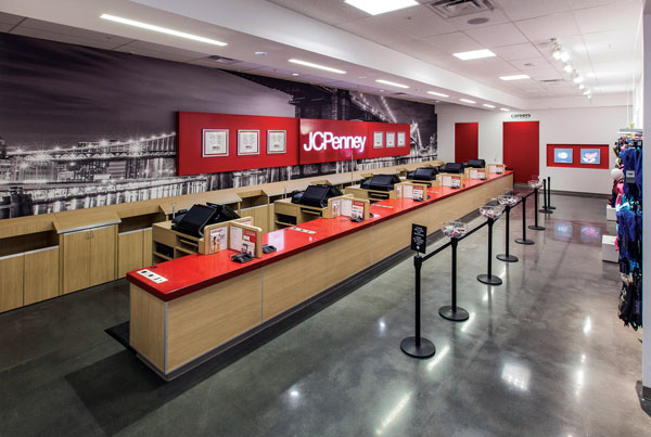 courtesy photo/JCPenney  The new two-story 138,000-square-foot store at Inland Center Mall in San Bernardino will open in the fall.