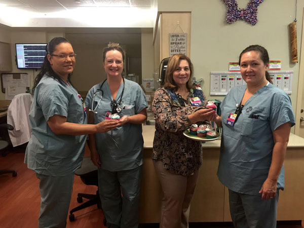New moms get sweet treat as Redlands Community Hospital