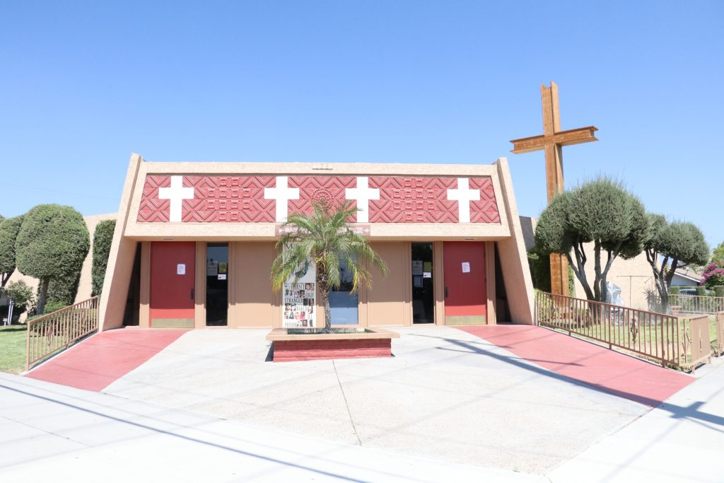 Photo/Anthony Victoria: The San Salvador Church is located at 178 W. K Street in Colton.