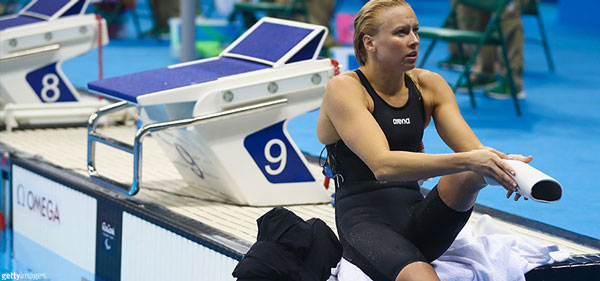 Jessica Long earned her 13th overall Paralympic gold medal at Rio de Janeiro.