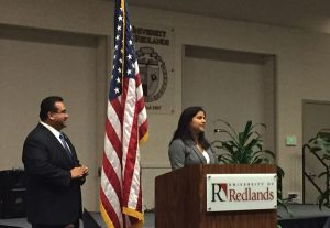 iecn photo/yazmin alvarez  Kiran Rawtani, a student at Redlands High School, was among the recipients of the Northside Impact Committee's Outstanding Youth awards.