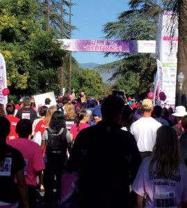 iecn photo/yazmin alvarez More than 13,000 walkers helped raise more than $261,000 during the 9th annual Believe Walk in Redlands Oct. 2.