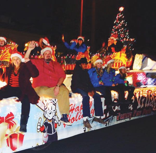 courtesy photo/fiesta village Fiesta Village won first place for the commercial division in the 2015 Redlands Christmas parade.