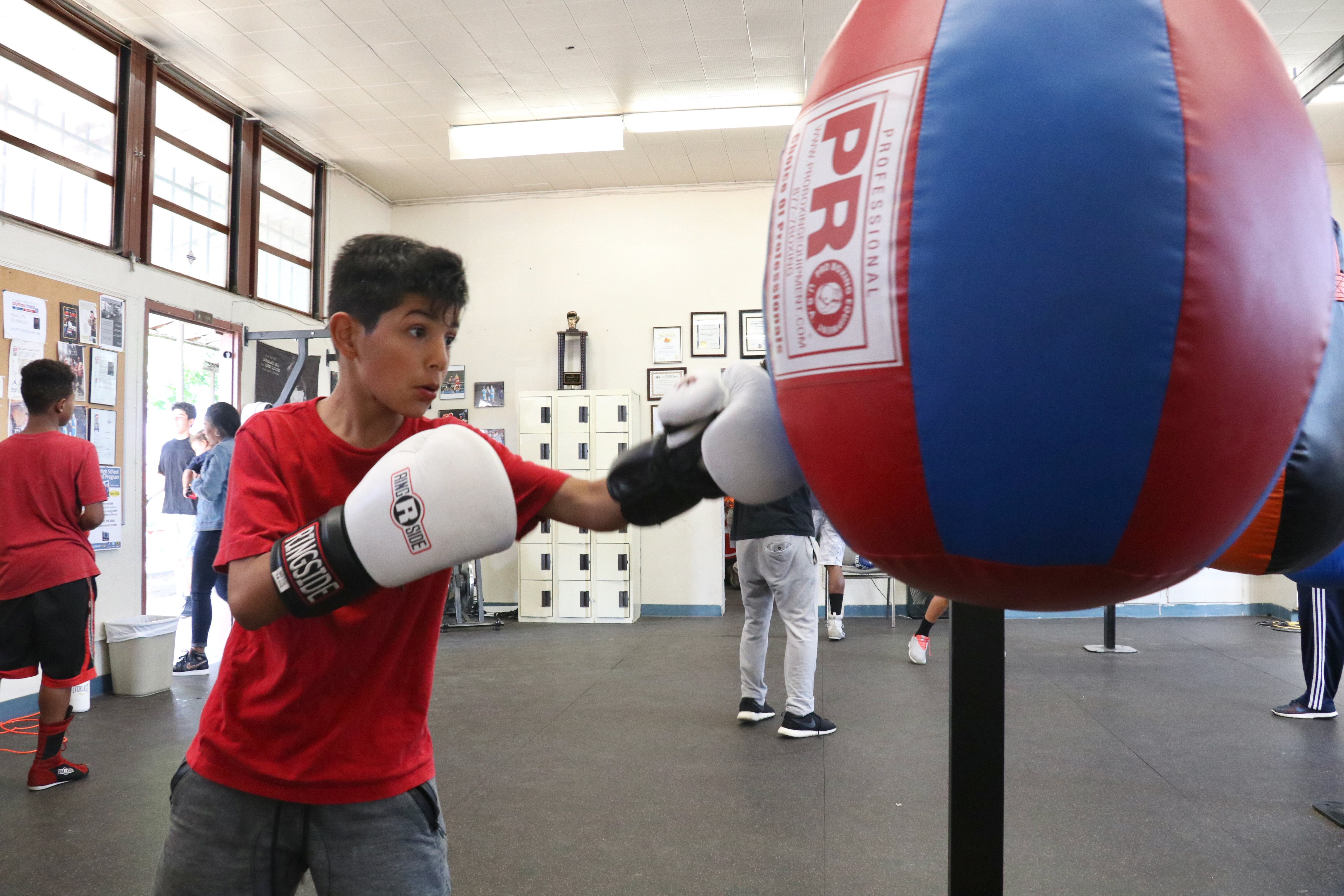 Boxing gym giving youth a 'fighting chance inland