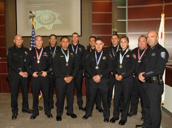 SB Police Dept  honors 10 officers during annual ceremony