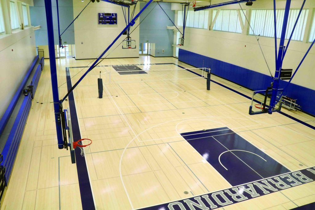 Photo/Anthony Victoria: SBVC's new basketball gym.