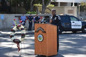 courtesy photos/rialto network Rialto police Ofc. Dwuan Rice shared his memory of 9/11. He was only 17-years-old the day of the attacks.